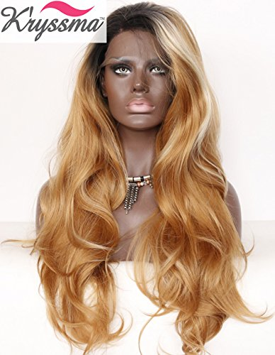 kryssma-synthetic-ombre-blonde-wavy-hair-wig-lace-front-wigs-highlights-for-black-women-dark-roots-h
