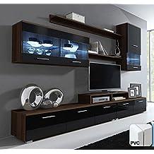 Muebles Bonitos – Mueble de salón Claudia mod.11 Puerta PVC (2,5m)
