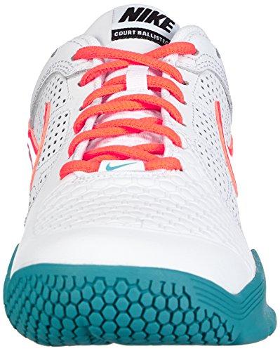 Nike Air Courtballistec 4.1 488144 Herren Tennisschuhe Weiß (White/Hyper Crimson-Dsty Ccts 111)