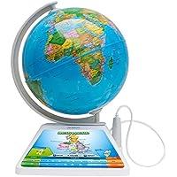 Oregon Scientific SG-268-R - Globo terráqueo Smart Globe Adventure AR