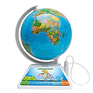 Oregon Scientific SG-268-R – Globo terráqueo Smart Globe Adventure AR