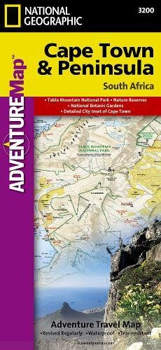 Cape Town & Peninsula, South Africa: Travel Maps International Adventure Map (National Geographic Adventure Map)