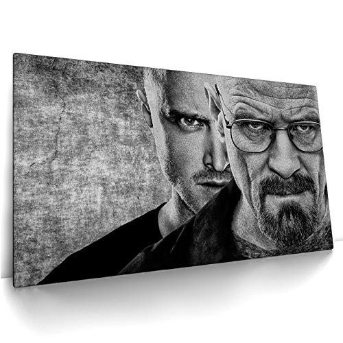 CanvasArts Breaking Bad 12.1001 - Leinwand Bild auf Keilrahmen (80x50 cm, einteilig)