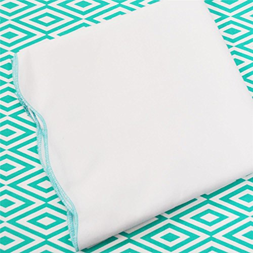 Oliver B 2-Piece Crib Bedding Set- Turquoise by Oliver B