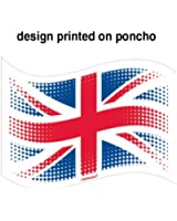 Olympics/Jubilee Decorations - Great Britain Union Adults Poncho/Waterproof