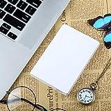 SU Externe Festplatte 60GB-2 TB USB3.0 High-Speed-Übertragung Plug-and-Play 2,5 Zoll Leichte und tragbare ABS-Material,White,80G