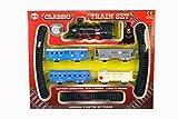 dalla A alla Z 01577Classico Set Treno a Batteria con Luce e Suono