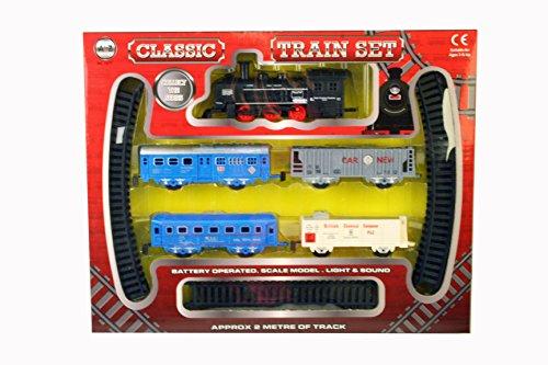 A to Z 01577Classique à Piles Ensemble de Train avec lumière et Son