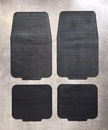 Auto Winter Gummi Fuß Matten Schutzfangmatten Universal vorne / hinten 4er Pack