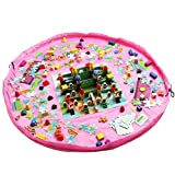 Ferryman Spielzeug Aufbewahrungstasche Kinder Teppich Kind Spielzeug Organizer 152,4cm Play und Go, faltbar zu reinige
