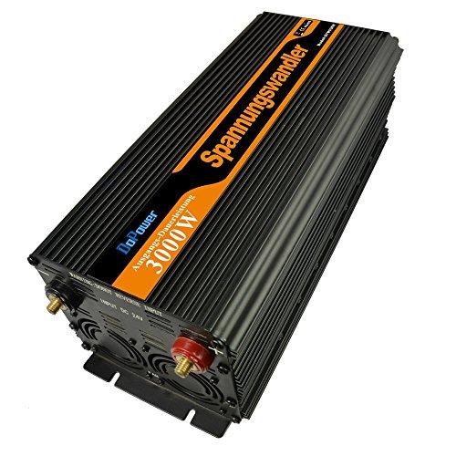 EDECOA Power Inverter Onda Modificata 3000w 6000w Trasformatore di Potenza Convertitore DC 24v in AC 220v AC 230v AC 240v Schermo LCD Display Invertitore di Potenza