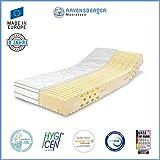 Ravensberger Ergo-MED® 70 7-Zonen MDI+HR Kaltschaummatratze H2 RG 70 (50-70 kg) Green-Cotton® 100x200 cm
