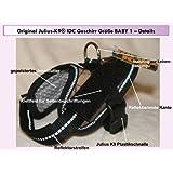 """16idc-m-b1Julius K9® IDC INNOVA comodidad de perro """"hablando"""" arnés de perro Powerharness para etiquetas, tamaño: """"bebé 1"""" color: Woodland–Cincha: 29–36cm–K-9"""