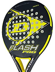 Dunlop FLASH PRO - Pala de pádel 38mm, 2018, nivel iniciación, color amarillo