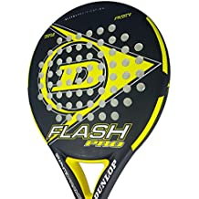 Dunlop FLASH PRO - Pala de pádel 38mm, 2018, nivel iniciación, color amarillo