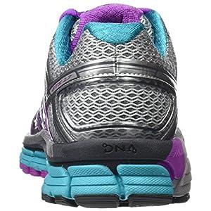 Brooks Adrenaline Gts 17, Zapatos para Correr para Mujer, Multicolor (Silver/purplecactusflower/blue), 39 EU