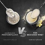 ESN Designer Whey, 2 x 1kg Beutel in allen Geschmacksrichtungen + Gratis ESN Shaker – 2kg direkt vom Hersteller 2 x Vanilla (Classic) - 6