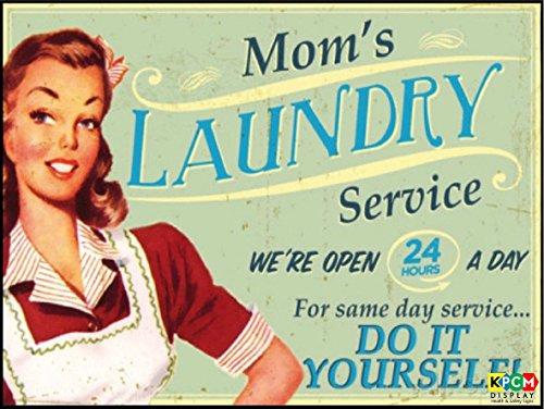 moms-laundry-service-retro-sign-vintage-self-adhesive-sticker-300mm-x-200mm