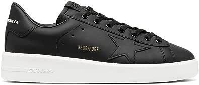Golden Goose Luxury Fashion Uomo GMF00124F00030190100 Nero Pelle Sneakers   Primavera-Estate 21
