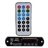 Sedeta® DC 12V Remote USB SD FM MP3 Player Module Car Auto Digital LED AUX MP3 Decode Board Amplifier Remote