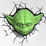 Star Wars Yoda Lámpara de Pared Mesilla Oficina Dormitorio Hogar