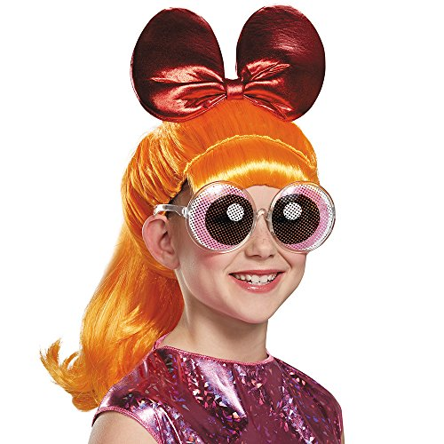 Disguise Blossom Powerpuff Girls Cartoon Network Wig, One Size Child, One Color by - Powerpuff Girl Kostüm