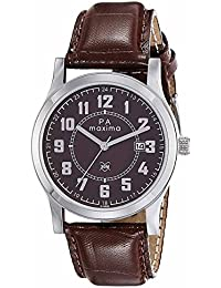 Maxima Analog Brown Dial Men's Watch-O-46862LMGI