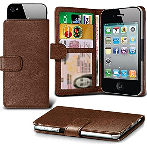 PHONE Accessories PACK: WALLET + POWER BANK ( Brown 71.6 x 141.9) case for UMi London case cover pouch High Quality Thin Faux Leather Holdit Spring Clamp Clip on Adjustable Wallet case cover Skin With Credit/Debit UMi London case by i-Tronixs