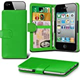 i-Tronixs (Green +Earphones 145 x73) case for Medion Life