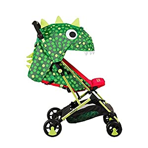 Cosatto Woosh Stroller, from Birth to 25 kg, Dino Mighty   7