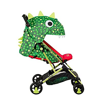 Cosatto Woosh Stroller, from Birth to 25 kg, Dino Mighty