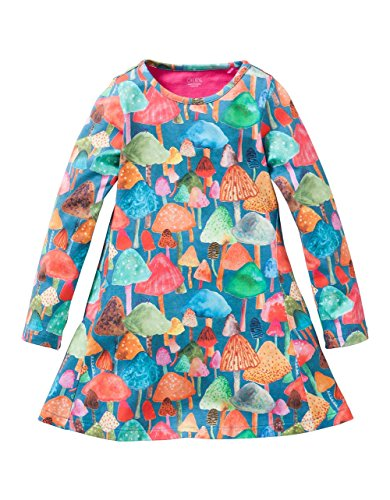 oilily-yf16gdr281-robe-fille-multicolore-mehrfarbig-blue-56-8-9-ans