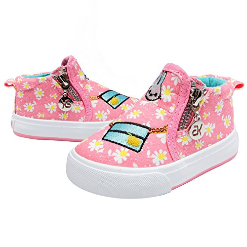 Sneakers rosa per bambina Alexis Leroy nisuTcgLE2