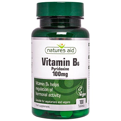 Natures Aid Vitamin B6, 100 Tablets (100 mg Vitamin for sale  Delivered anywhere in UK