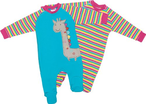 Baby Butt Schlafanzug 2er-Pack mit Druckmotiv 62 / 68