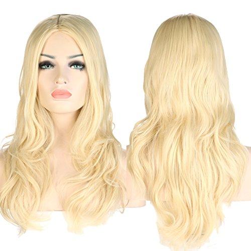 S-noilite® Nouvelle Perruque Femme Longue - Blond