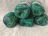 Gründl Cotton Quick Print 100% Coton / 50 g ~ 125 m/Lapin Bastelé/Neuf