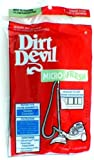 Dirt Devil Plus Grande Image Royal Vision Filtre # 3-260220-000 - Authentique
