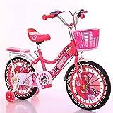Defect Kinder Fahrrad 2-6-jährige Baby Kinderwagen männliche und weibliche allgemeine Fahrrad mit Korb + Stabilisator
