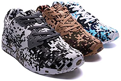 BLOOMNEXT Herren Air-Dämpfung Sneaker 40-46 mit 3 Farben