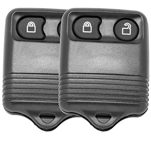 Auto Schlüssel Funk Fernbedienung 2X Gehäuse 2 Tasten für Ford