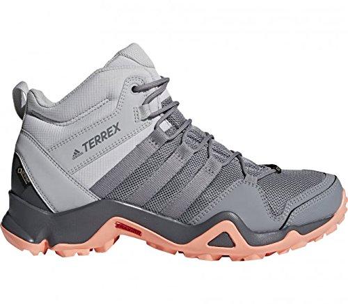 3d9e89ac4f93 adidas Damen Terrex AX2R Mid GTX Trekking-  Wanderstiefel, Grau  (Gridos Gritre
