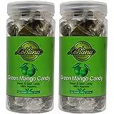 Kohana International 100% Hygienic Green Mango Candy -250 Gm Each (Pack Of 2)