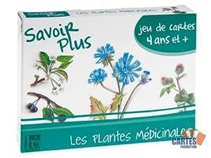 """Jeu de 42 cartes : 7 familles """"Les Plantes Médicinales"""""""