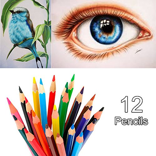 New Aquarell Bleistifte ungiftig Aquarell pencils-unbreakable Buntstifte lang Kinder Buntstifte