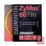 ASHAWAY zymaz 66Fire 0,66mm Badminton Saite Set–Orange