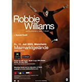 Robbie Williams - Escapology (2003) - Konzertplakat, Konzertposter
