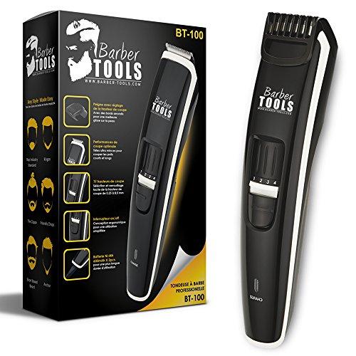✮ BARBER TOOLS ✮ Bartschneider BT-100 Pro - Professioneller Bartschneider speziell für die Bartpflege