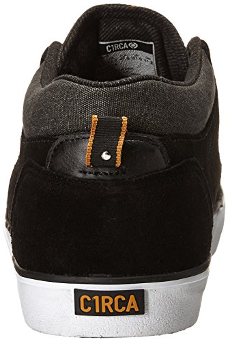Herren Skateschuh Circa Lakota Skate Shoes black/inca gold/white
