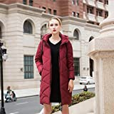 TT&FUSHI Ms. Herbst und Winter dickere Baumwollkleidung , red , 5xl
